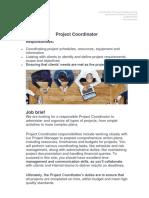 Job Description Project Coordinator.docx