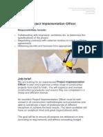 Job Description Project Implementation Officer.docx