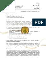 Carta Dirección Académica