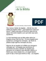 Ángeles de La Biblia Niños