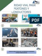 Seguridad Vial Para Peatones y Conductores