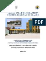 Plan de acción y responsabilidades - Red Huaura oyon