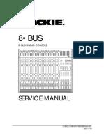 8_bus Mackie Service Manual