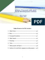 Online Resources for ESL Teachers