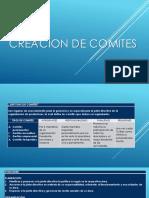 Presentación de comités