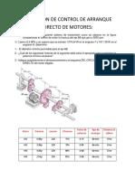 Aplicación de Control de Arranque Directo de Motores
