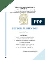 Sector Alimentos Peru
