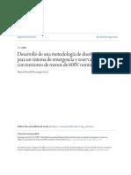 Desarrollo de Una Metodología de Diseño Eléctrico Para Un Sistema