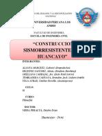 CONSTRUCCIONES SISMORESISTENTES