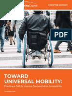 Executive Summary Toward Universal Mobility for Web Share