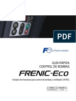 Frenic Eco Pump Control Es