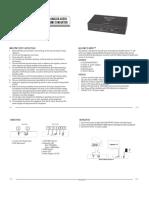 Binary Conversor VGA HDMI B-220