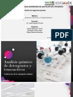 Analisis Quimico de Detergentes y Tensoactivos