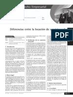 Diferencias Entre Un Contrato de Locacion de Servicios y Un Contrato de Comision
