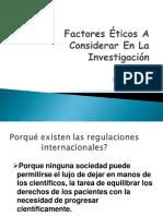 Etica de La Investigacion 2019