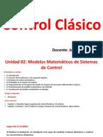 2. Modelos Matemáticos de Sistemas de Control
