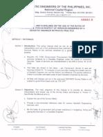 GEP-NCR Reso012 AnnexB Manual