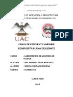 Informe de Compuertas Deslizantes III Aporte