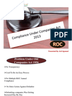 Get Your Companies ROC Compliance Done at Ezybiz India Consulting LLP