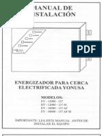 Manual Energizador