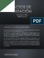 Actos de Imitación (1)