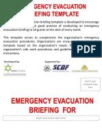 Emergency Evacuation Template.pptx