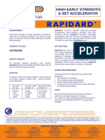 1. Rapidard (Data Sheets)