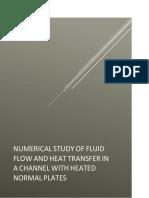 Variación del Reynolds y Nusselt CFD