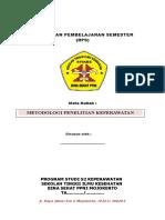RPS Metodologi Penelitian2
