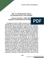 La Transición Hacia La Democracia, Tres Etapas