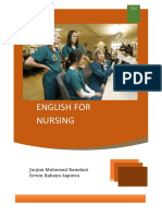 English for Nursing - Handout