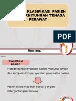Sistem Klasifikasi Pasien (Pengorganisasian)