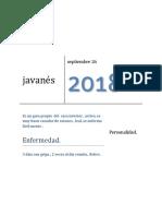 Javanés y Dalmatas