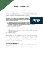 1- Manual de Operaciones