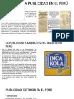 Origen de La Publicidad en El Perú