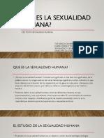 Que Es La Sexualidad Humana