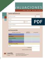 Evaluacion Primer Periodo Quinto Grado Examen.pdf · Versión 1