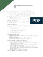 Summary-1 Culinary Business Strategy