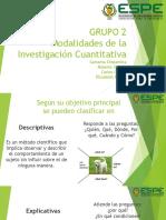 G2.Modalidades de la Investigación Cuantitativa.pptx