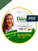 Programa de Diana alcaldía Puerto Rico Caquetá