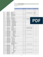 Drawing List - Cbfsf 2x450 Tpd - r1
