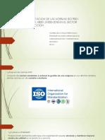 IMPLEMENTACION DE LAS NORMAS ISO 9001-2015,14001,18001,31000-2018 EN EL