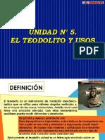 5. UNIDAD N° 5.  EL TEODOLITO