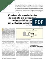 Antena164 06A Control Movimiento