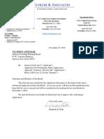 Storzer Planning Board Letter - Jackson Twp