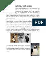 Arquitectura y Diseño de Modas
