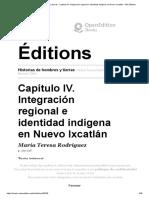 (María Tereza) Historias de hombres y tierras - Capítulo IV. Integración regional e identidad indígena en Nuevo Ixcatlán - IRD Éditions.pdf