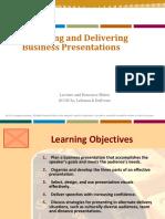 317777693 Chapter 13 Designing and Delivering Business Presentations 1