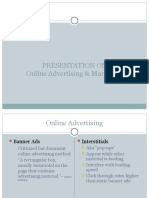 Web Advertising n Mktg