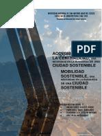 Accesibilidad a La Centralidad Una Necesidad de Ciudad Sostenible